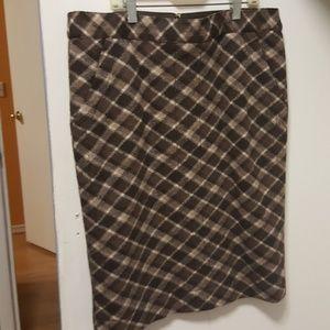 Tory Burch mid-thigh wool skirt